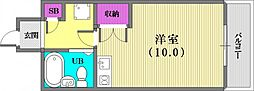 大昭マンション[1階]の間取り