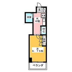 グランメールカズIII[7階]の間取り