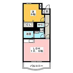 フィールドコート ステラ[3階]の間取り