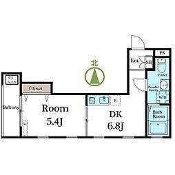 casa della felicita[0302号室]の間取り