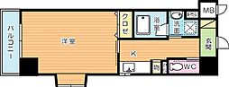 リード室町[5階]の間取り