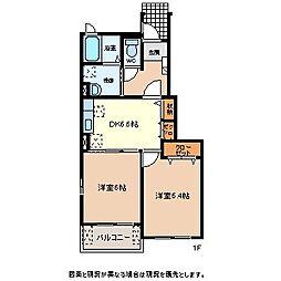 N.H.SEISEN B[1階]の間取り