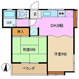 プレイス本郷 3番館[1階]の間取り