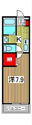 ボヴィ・ガーデン[1階]の間取り