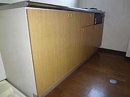 倉本ハイツのキッチン下部