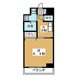ルラシオン江戸橋[2階]の間取り