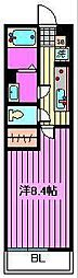 リヴィエール南浦和[2階]の間取り