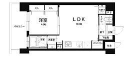 Mid Court新大阪[5階]の間取り