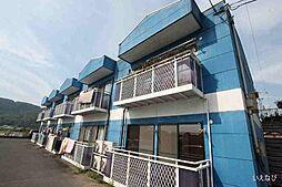 岡山県笠岡市吉浜の賃貸アパートの外観