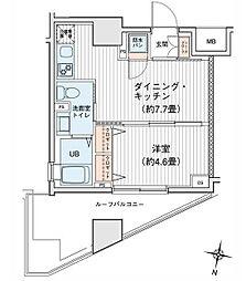 プリモレガーロ町田[01401号室]の間取り