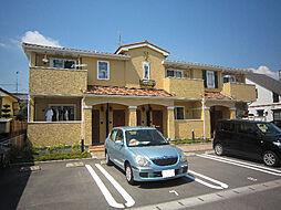 愛媛県松山市北土居1丁目の賃貸アパートの外観