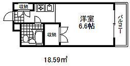 春日野道駅 3.4万円