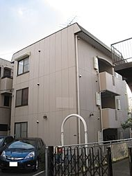 神奈川県川崎市中原区木月2丁目の賃貸アパートの外観
