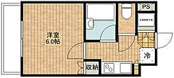 ルーブル武蔵新城[6階]の間取り