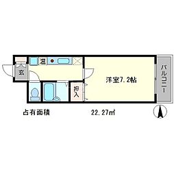 グリーンハーモニーII[2階]の間取り