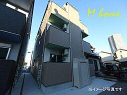 愛知県名古屋市中川区柳島町1丁目の賃貸アパートの外観
