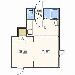 キラメック円山表参道II[3階]の間取り