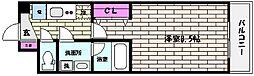 ロアール神戸住吉[2階]の間取り