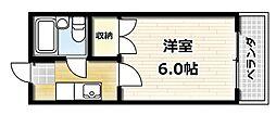 大久保駅 2.5万円