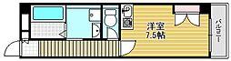 シェルデュ甲子園口[305号室]の間取り