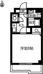 神領ステーションビル[309号室]の間取り