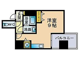 リード桜坂[10階]の間取り