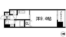 ドルチェヴィータ池田DUE[6階]の間取り