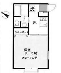 アプトフィーア[2階]の間取り