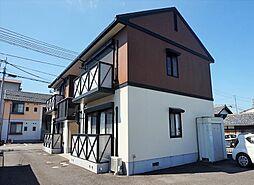 滋賀県近江八幡市西本郷町の賃貸アパートの外観