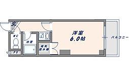 オーナーズマンション友井[4階]の間取り