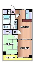 カーサ大樹[3階]の間取り
