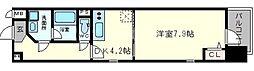 スプランディッド南船場[12階]の間取り