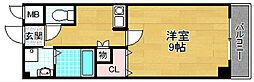 香里プラザVII[5階]の間取り