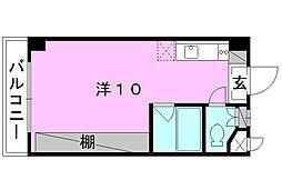 サンハイム木屋町[305 号室号室]の間取り