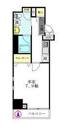 パティーナ・ウィリア武蔵小杉[1階]の間取り