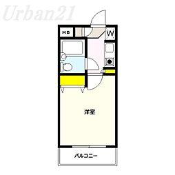 メインステージ大倉山[2階]の間取り