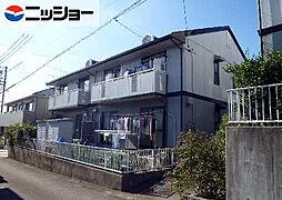 愛知県豊田市鴛鴨町上高根の賃貸アパートの外観