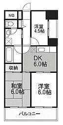 エンブレム八王子本町[4階]の間取り