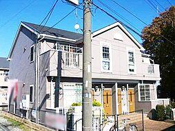 神奈川県藤沢市円行の賃貸アパートの外観