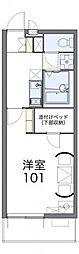 コスモMK[1階]の間取り