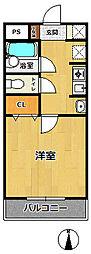 ステラハウス4-100[126号室]の間取り