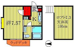 HAKU−AN[1階]の間取り