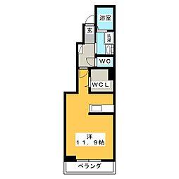 WKM474[1階]の間取り
