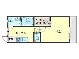 GONBIマンション[2階]の間取り