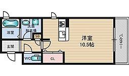 メゾンケイツー[3階]の間取り