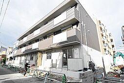 兵庫県尼崎市武庫之荘7丁目の賃貸アパートの外観