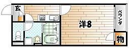レオネクストTN K15[2階]の間取り