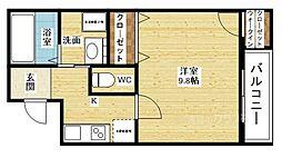 フジパレス東淀川V番館[3階]の間取り