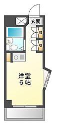 幕張マンション[3階]の間取り