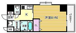 インベスト北梅田[2階]の間取り